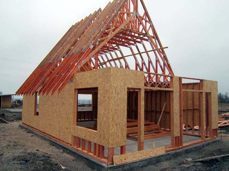 Какой дом построить - каркасный или каркасно-щитовой