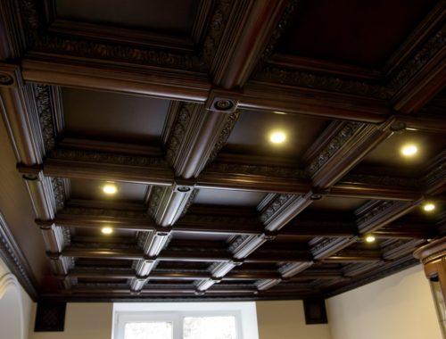 Что такое кессонные потолки