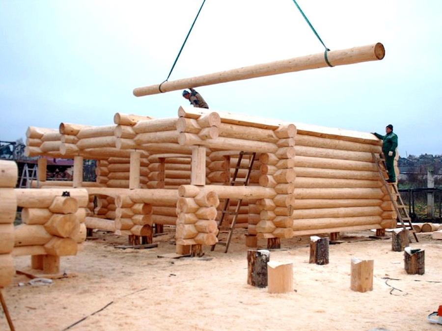 Дом из сруба — основные принципы строительства