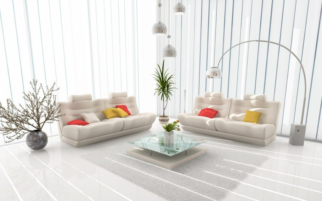 Стиль минимализм в помещении