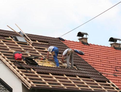 Замена кровли крыши частного дома
