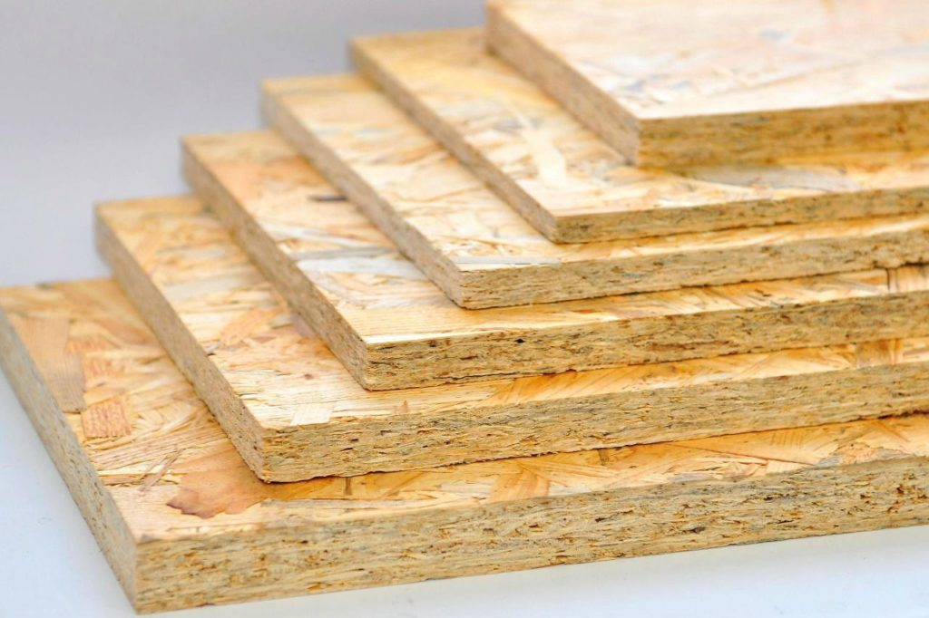 плиты на древесной основе OSB