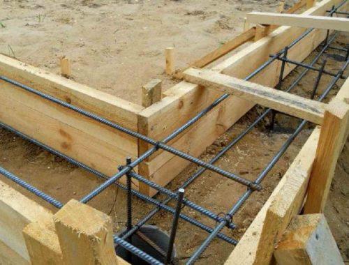 Опалубка для строительства дома