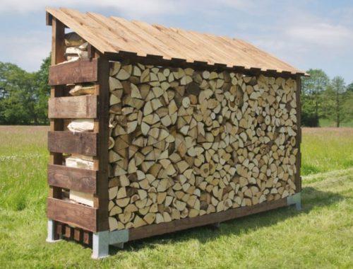 Где хранить дрова