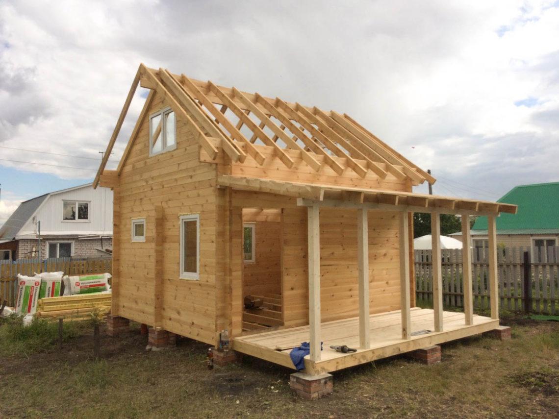 Из чего построить дачный дом