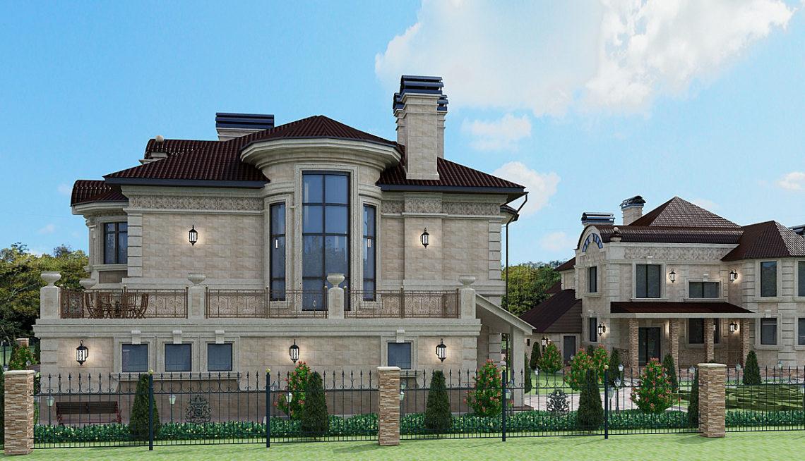 Из чего строят дорогие дома
