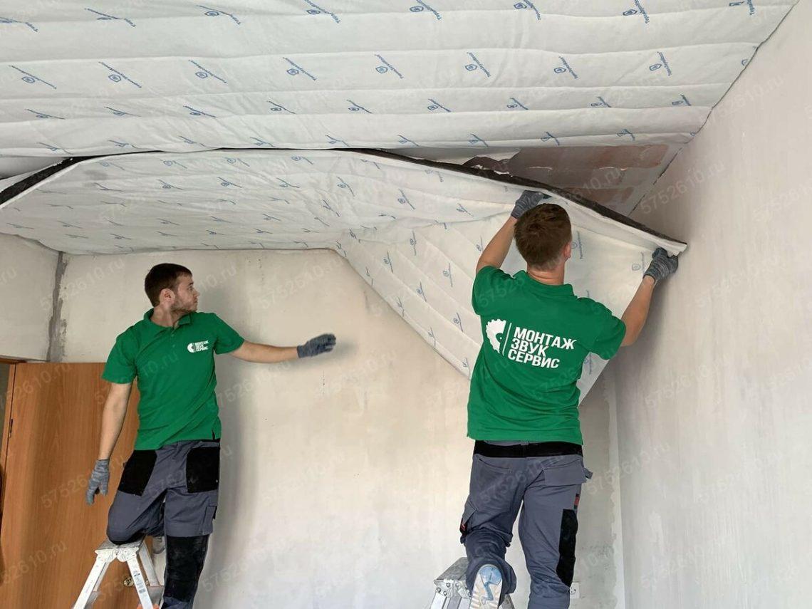 Как сделать звукоизоляцию потолка от соседей сверху