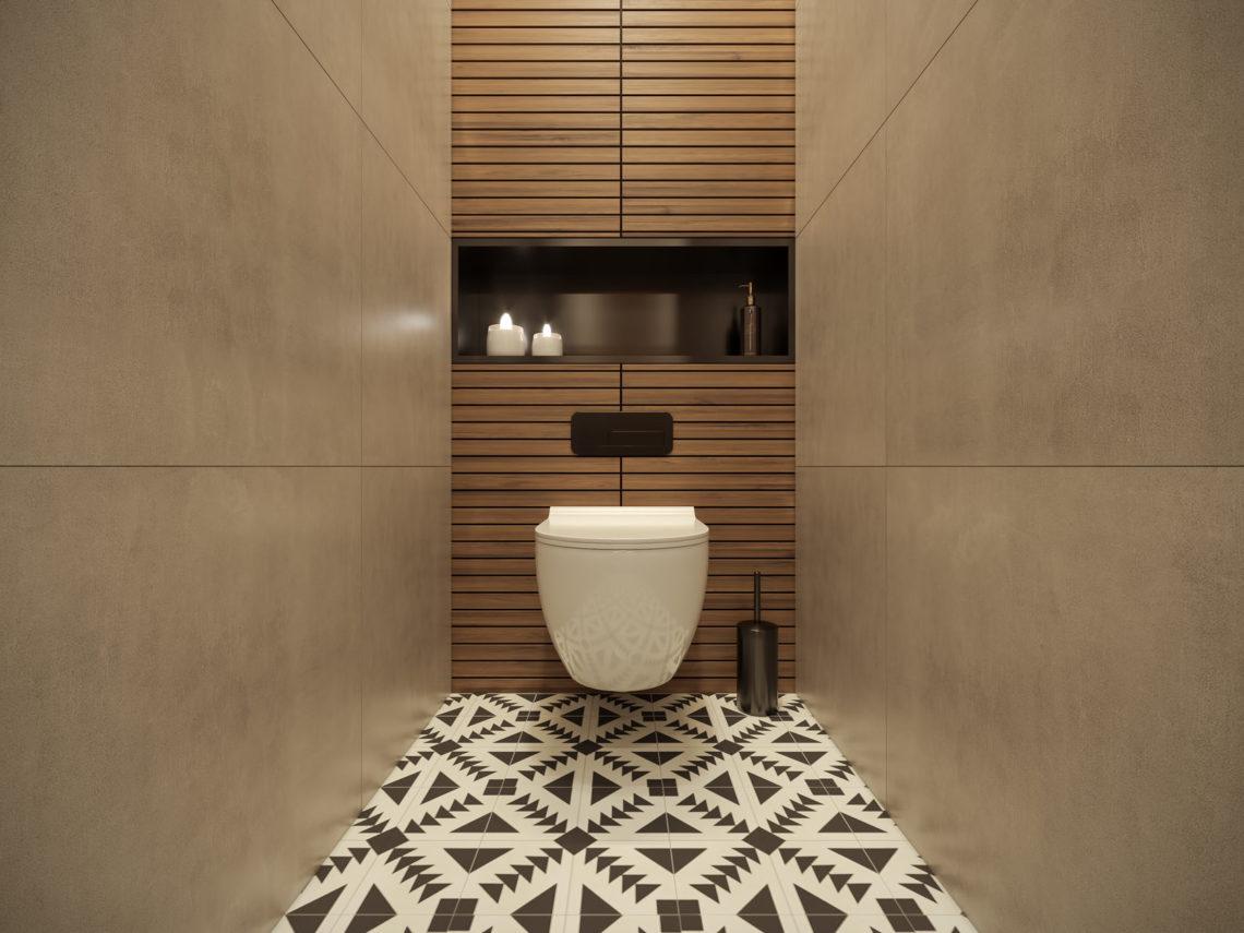 Какие выбрать материалы для отделки туалета