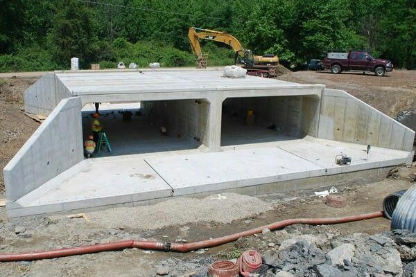 Процесс строительства подземного гаража