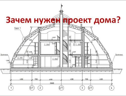 Проект дома зачем нужен