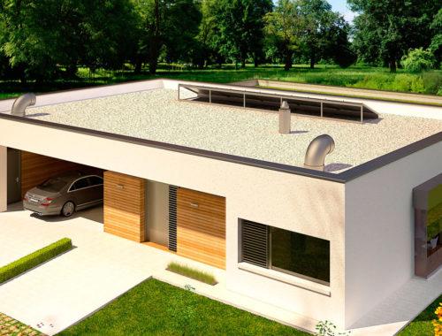 Прямая крыша дома плюсы и минусы