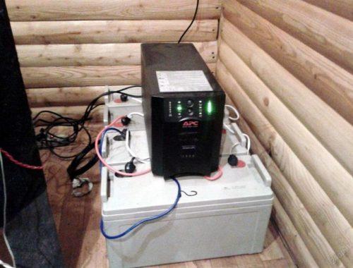 Аккумуляторы для дома при отключении электричества