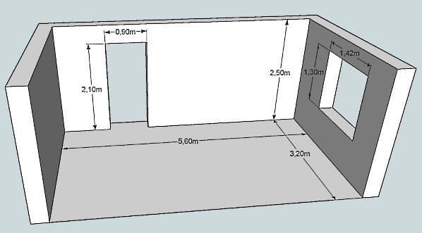 Высота стен в квартире
